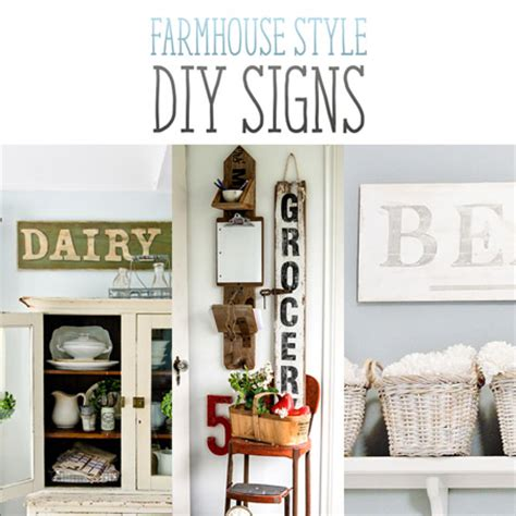 diy home decor signs farmhouse style diy signs the cottage market