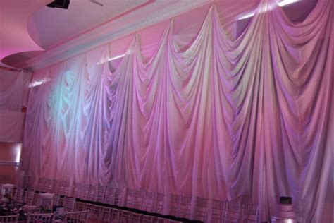 wall draping for weddings this ones for the girls