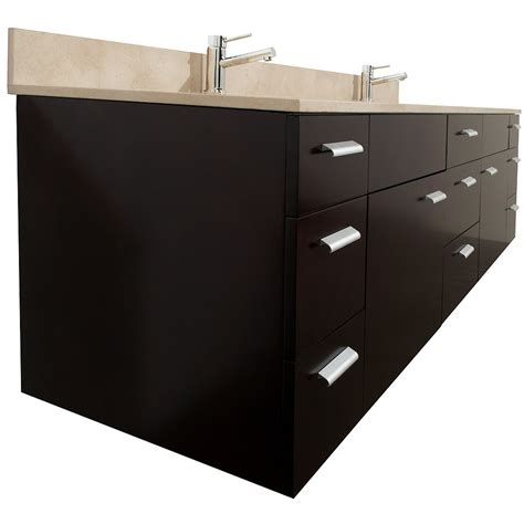 78 Bathroom Vanity 78 Quot Encore 78 Espresso Bathroom Vanity Bathroom Vanities Bath Kitchen And Beyond