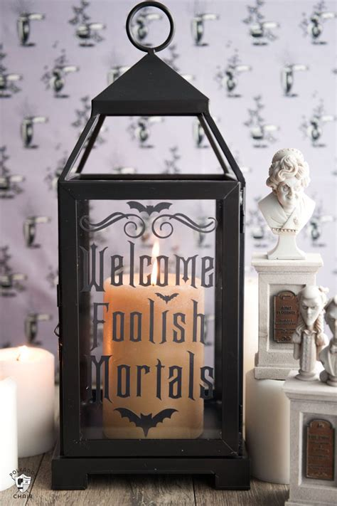 haunted mansion decor disney inspired pinterest diy halloween decor ideas haunted mansion inspired lanterns