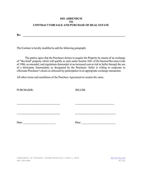 Lease Addendum Form Solarfm Tk Contract Addendum Template