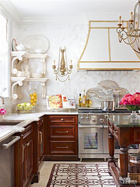 motif wallpaper dinding dapur cara kreatif aplikasikan wallpaper di dapur rumah dan