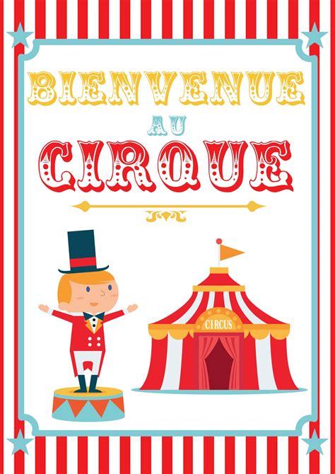 Decor Cirque A Imprimer by Poster Cirque 224 Imprimer Cirque Anniversaires Et Maternelle