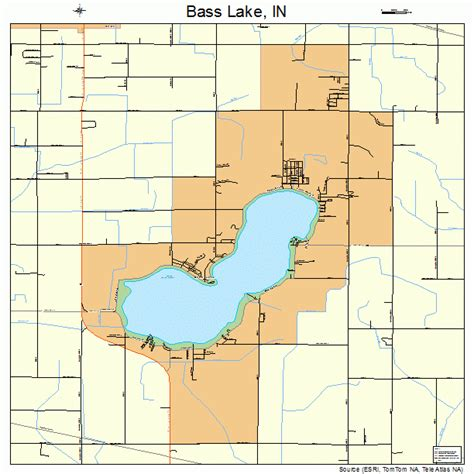 Lake County Search Indiana Bass Lake Indiana Map 1803610