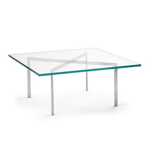 barcelona mies der rohe coffee table knoll