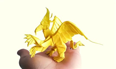 How To Make An Origami Griffin - mythology brought to through some
