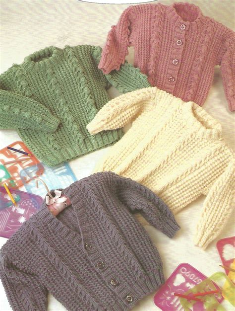 5 ply knitting patterns free knitting pattern babies children s aran fisherman 12 ply 4