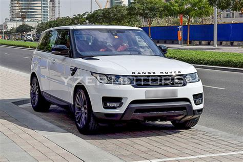 land rover dubai rent a land rover range rover sport suv 2017 white in