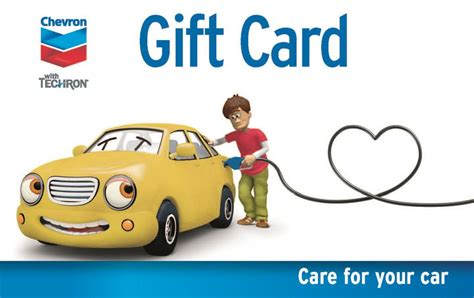 Chevron Gift Card - chevron