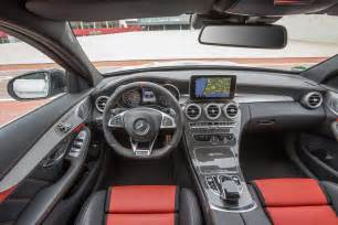 Mercedes C63 Amg Interior 2015 Mercedes Amg C63 C63 S Pricing Announced