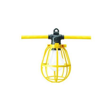 Cord O Lite Construction String Lights Yellow 50ft Construction String Lighting