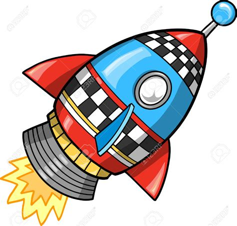 Spaceship Rocket rocket clipart spaceship pencil and in color rocket