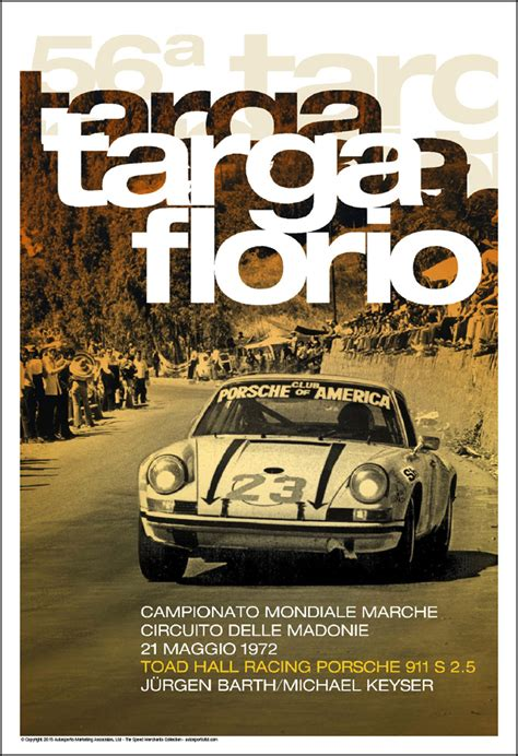 1972 porsche club of america at the targa florio