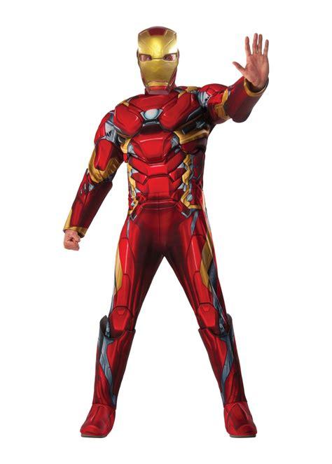 civil war iron man men costume superhero costumes