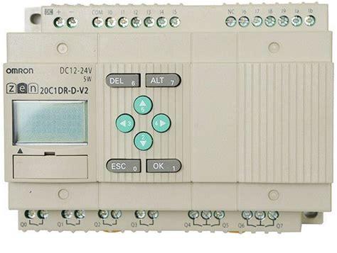 Omron Zen 20c1dr D V2 1 omron zen 20c1dr d v2 programmable relay