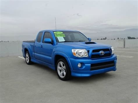 toyota california blue toyota tacoma in california for sale 107 used cars