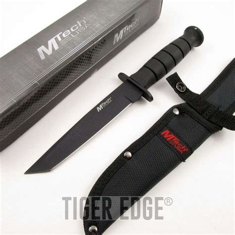 tactical combat knife mtech 10 5 quot tanto blade tactical combat knife