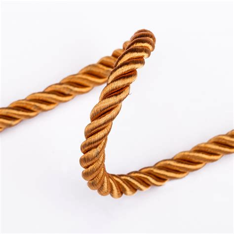 6mm Braided Rope - neotrims 6mm 3 ply barley twist rope cord trim braided