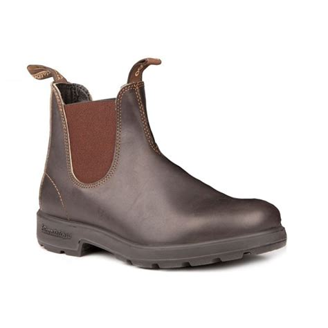 blundstone boots blundstone blundstone 500 chelsea stout brown n7 mens