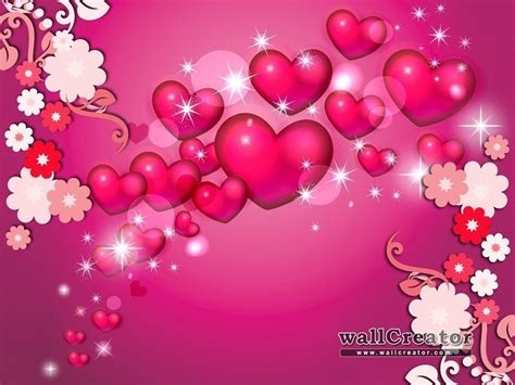 wallpaper flower and heart hearts and flowers wallpapers wallpaper cave
