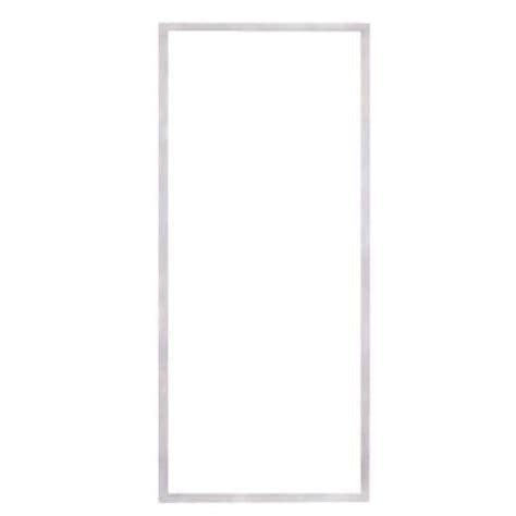 american craftsman 50 series white fixed panel reversible sliding patio door with lowe3