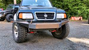 Suzuki Sidekick Custom 20 97 Mb Suzuki Sidekick Sport Custom Bumper Project Grbbr