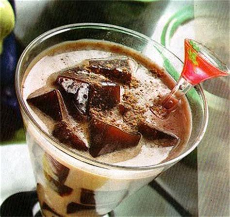 bahan membuat es lilin coklat es blender puding coklat
