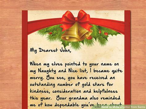 send a letter to santa 3 ways to write a letter from santa wikihow 1618