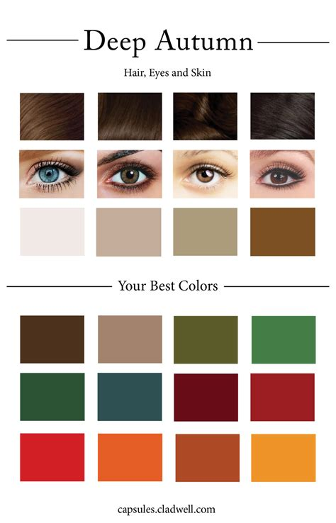 deep autumn color palette how to create your personal color palette plus take our