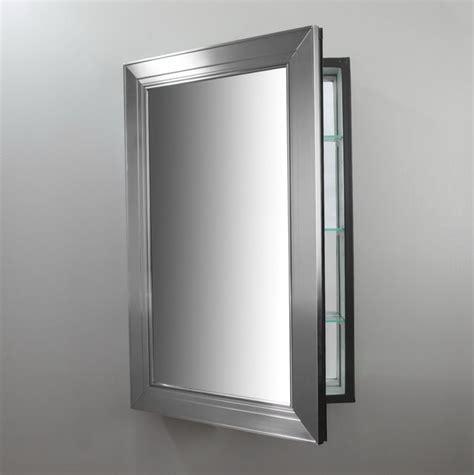Framed Oval Mirror Medicine Cabinet   Home Design Ideas