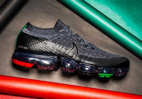 new year vapormax release date nike vapormax bhm black history month 2018 look
