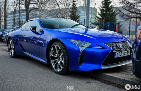 lexus blue lexus lc 500 structural blue edition 3 february 2018