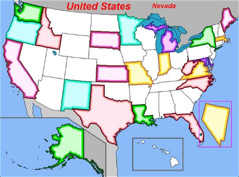 map usa puzzles free us state capital map test