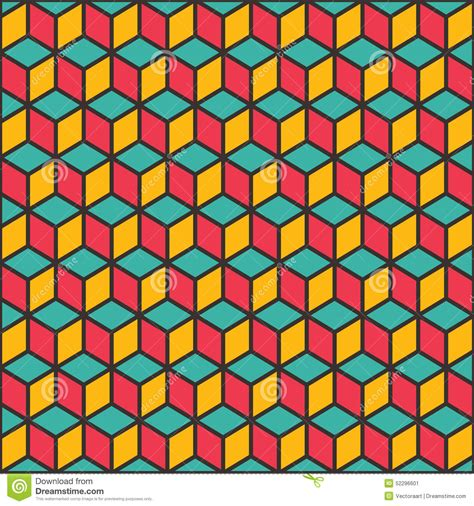 shape pattern background creative shape design pattern stock vector image 52296601