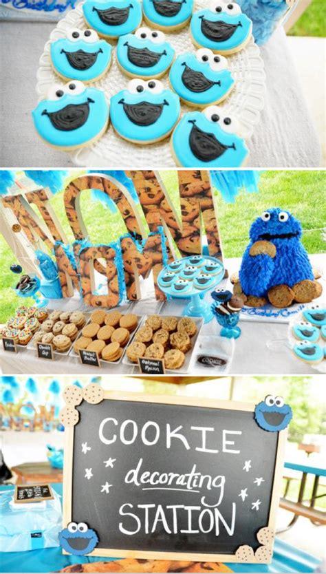 Cookie Decorations Birthday by Kara S Ideas Chic Blue Diy Cookie