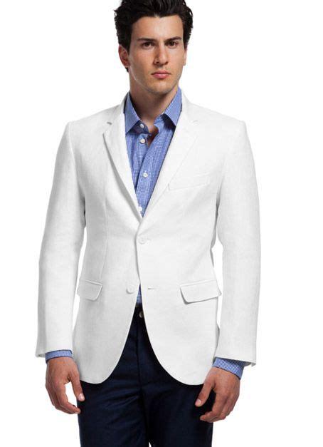 Combinaciones Con Saco Blanco De Hombre | saco blanco pantalon azul hombre buscar con google