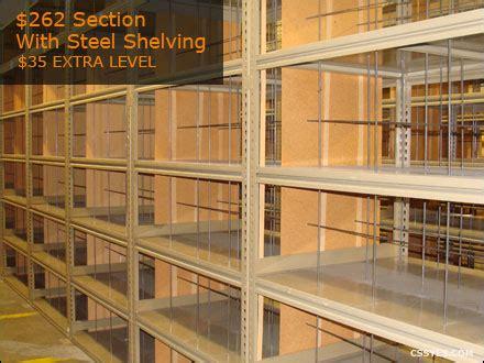 used industrial shelving used industrial metal shelving steel shelving
