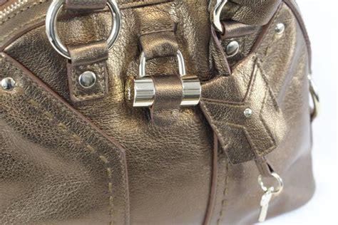 Ysl Vany Emboss 2627 mini muse yves laurent bag golden bag for sale at 1stdibs