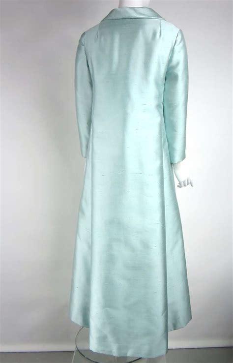 Jv Premium Dress Aluna Fit L Besar stunning 1960s silk 2 opera coat and empire waist gown at 1stdibs