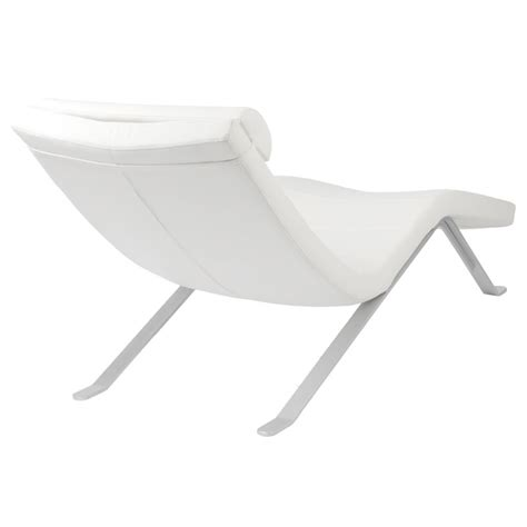 tall chaise lounge gillian modern white chaise lounge eurway furniture