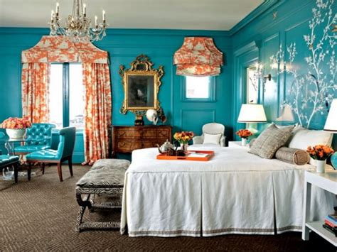 turquoise and orange bedroom 10 amazing blue bedroom interior design ideas https