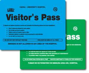 visitor pass template visitor pass template and personalize badge