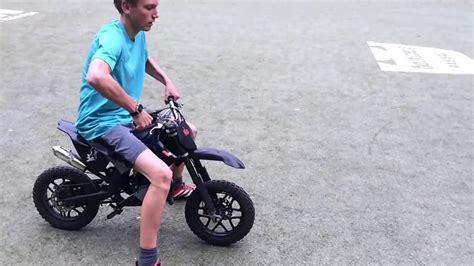 Mini Motorrad Video by Mini Dirt Bike 50cc Pocket Bike Youtube