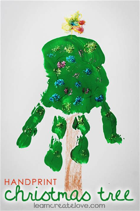 infant or toddler handprint tree i love how simple it is