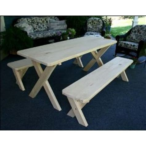 narrow picnic table as kitchen table projects for future