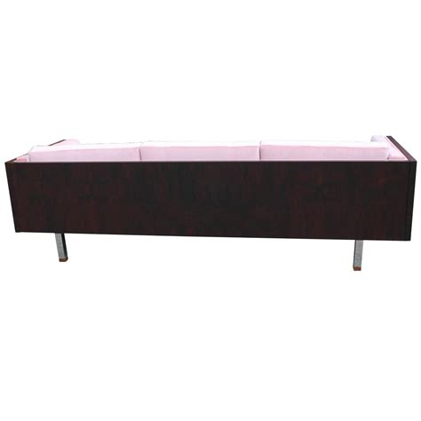 pale pink velvet sofa exquisite rosewood sofa in pale pink velvet for sale