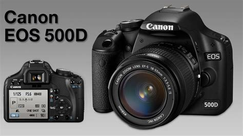 Canon 500d canon eos 500d review what digital
