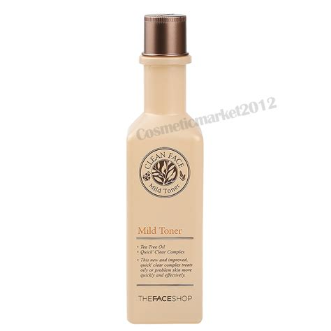 Harga The Shop Clean Mild Toner the shop clean mild toner 130ml free gifts ebay