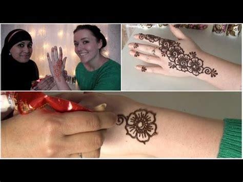 henna tattoo zetten youtube