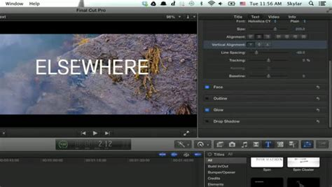 final cut pro how to add text video adding text to canvas in final cut pro x ehow